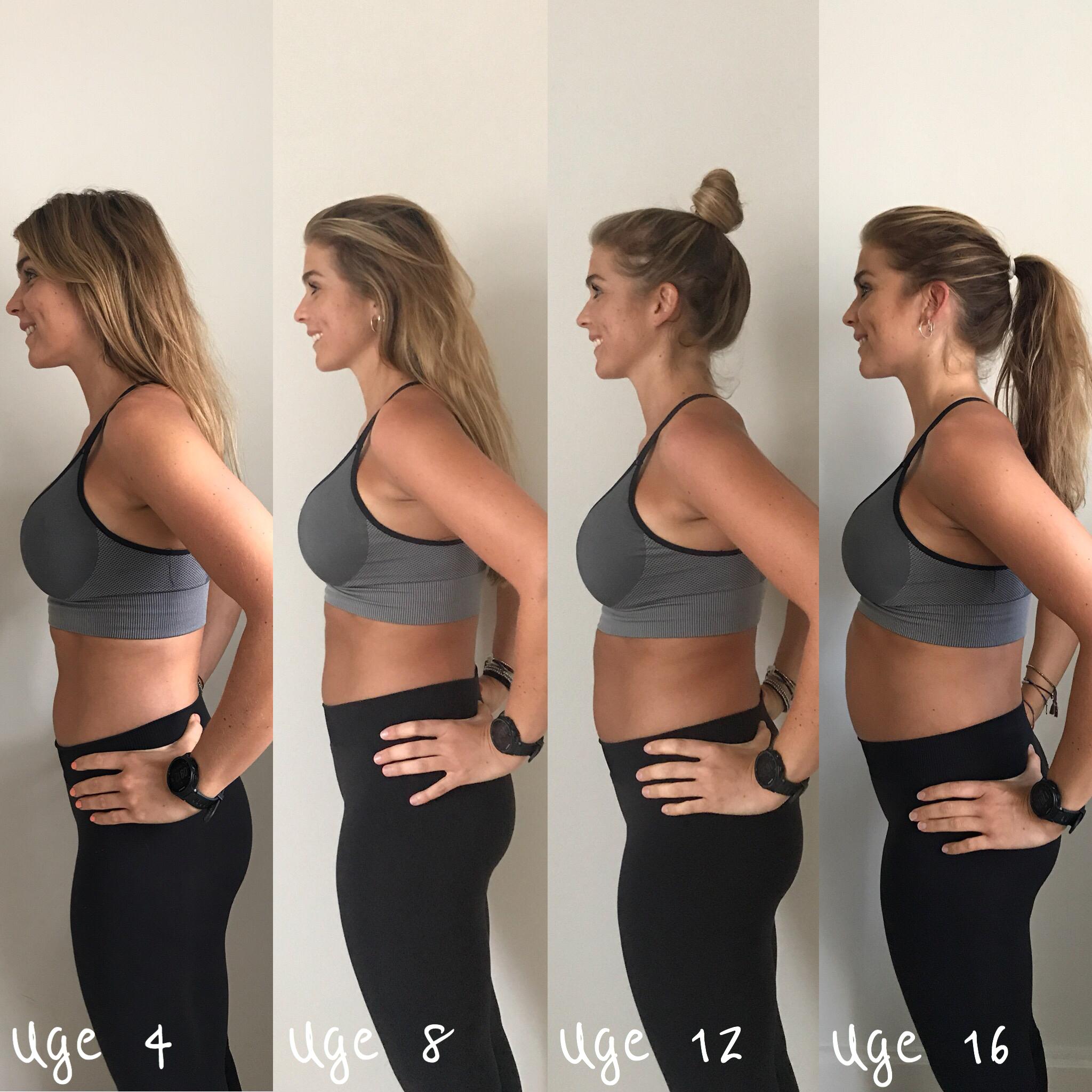 gravid de første uger